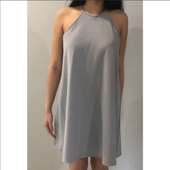 Forever21 Baby Blue Strapless Circle Dress Size: S